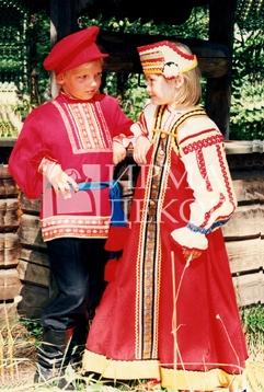 Женское платье для русского народного хора