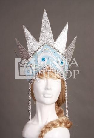 Как сделать корону из картона для снежной королевы